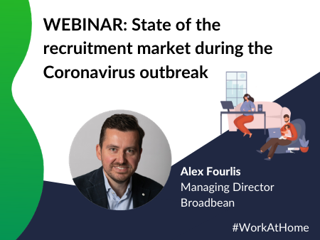 WEBINAR State Of The Recruitment Market During The Coronavirus Outbreak